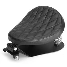 Only US$98.99, buy best Motorcycle Solo Seat Cushion With Brackets Black Diamond For Harley Bobber Chopper sale online store at wholesale price.US/EU warehouse.