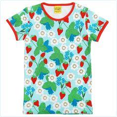 Duns Shirt Edbeerpflanzen - Kindermode www.lolakids.de