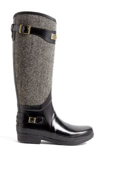 Hunter | Regent Apsley Tweed Wellington Boots by Hunter