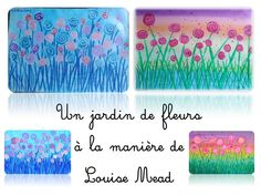 Here is an English artist: Louise Mead who offers us . Spring Art, Spring Crafts, Classe D'art, Art Et Nature, Education Logo, Education Major, Ecole Art, Alphabet For Kids, English Artists