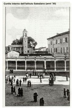 Cortile interno Salesiani anni 30