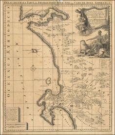 (Title unset) - Barry Lawrence Ruderman Antique Maps Inc. African Map, African History, Old Maps, Antique Maps, Vintage Wall Art, Vintage Walls, Article Writing, Africa Travel, Cape Town
