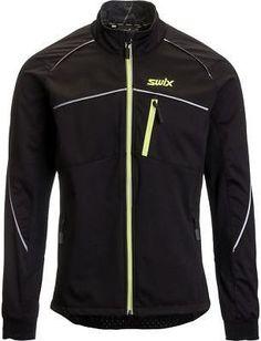Swix Delda Light Softshell Jacket - Men's Black/Yellow S