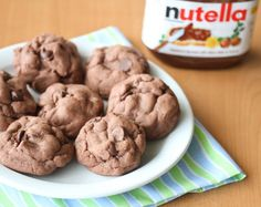 Soft Nutella Chocolate Cookies.... there SSSOOOO GOOODDDD