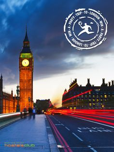 Win a #Party Trip to #London including free accommodation, flight and pub crawl!