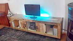 tv console diy - Google Search