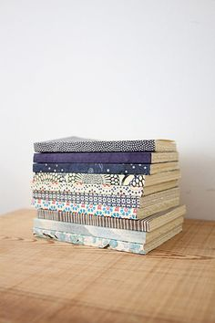 Blue floral notebook from Brook Farm General Store Easy Homemade Biscuits, Homemade Baby Toys, Homemade Gifts, Stacking Shelves, Do It Yourself Baby, Homemade Christmas Cards, Ideias Diy, Notebook Covers, Handmade Books