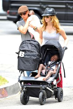 Jillian and her partner with their children. Love this! So happy for them!