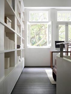 Interiors of the minimalist house