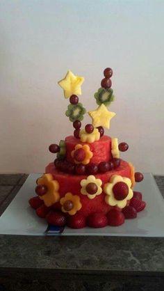 #cake #frutta #decorazione