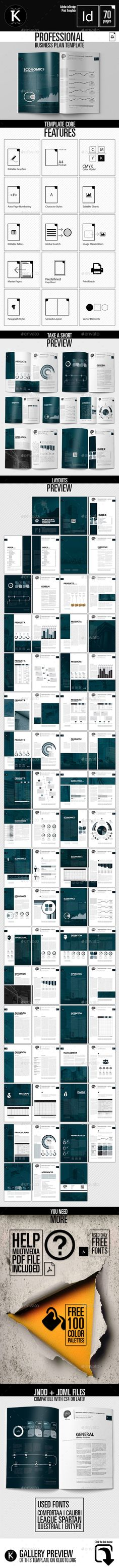 Professional Business Plan Template The business plan consists of - professional business plan