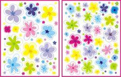 Samolepky na zeď - Květiny - 1 m2   Samolepky na zeď - Samolepky na zeď dětské - KVĚTINY, LOUKY, MOTÝLI Albums, Picasa
