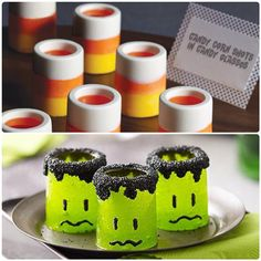 Shot glass candy molds by Wiltons