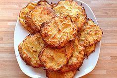Backofen Reibekuchen (Rezept mit Bild) von lene184 | Chefkoch.de  Als Sattmacher Frischkäse verwenden