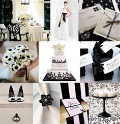 Black and White elegantwedding.ca