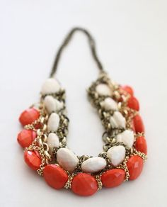 #necklace #red #corail