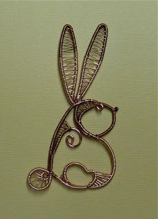 sweet wire bunny
