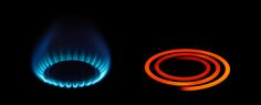 Difference between: gas and electric stoves.
