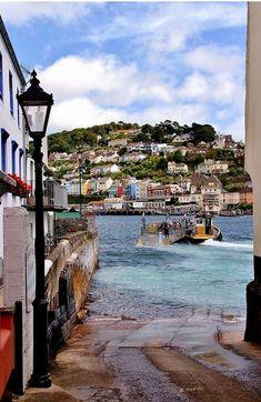 Historic Lower Ferry slip - Dartmouth, Devon, England
