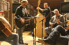 Music in the barn? I Think So!! ~ Rusty Knuckles Barn Party Jam