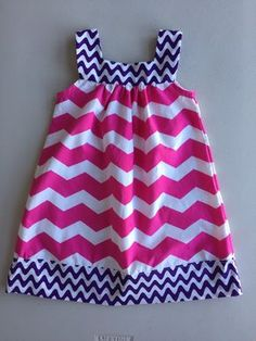 A personal favorite from my Etsy shop https://www.etsy.com/listing/265711017/girls-easter-dress-pink-white-chevron