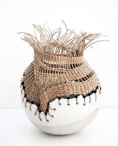Inspiring Me? - ceramic vase by Tracy Wilkinson -What's Inspiring Me? - ceramic vase by Tracy Wilkinson - Ceramic Clay, Ceramic Vase, Ceramic Pottery, Pottery Art, Pottery Kiln, Thrown Pottery, China Porcelain, Kintsugi, Pottery Sculpture