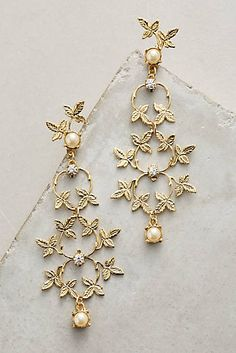 Golden Trellis Earrings
