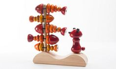 Fishy Vishy ...a stacking toy...