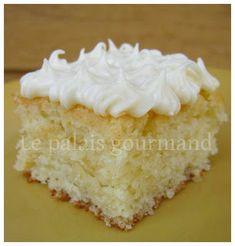 Le palais gourmand: Gâteau bundt au citron, glaçage au citron et fromage à la crème