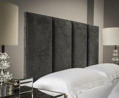 4 Panel Floor Standing Upholstered Headboard