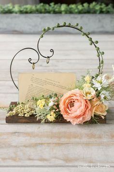 New Flowers Shop Ideas Bloemen Ideas Engagement Decorations, Flower Decorations, Wedding Decorations, Ring Holder Wedding, Ring Pillow Wedding, Deco Floral, Floral Design, Dried Flowers, Paper Flowers