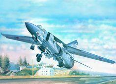 #art, #drawing, #MiG - 23ML