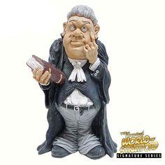 Funny Job personaje-corredor de bolsa con portátil-Warren stratford más divertidos profesión decorativas