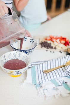4 Power Meal Recipes You Need To Power Through Your Day, like this coconut Acai smopthie bowl by Popular Florida Lifestyle blogger Tabitha Blue of Fresh Mommy Blog