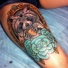 raccoon tattoo - Buscar con Google