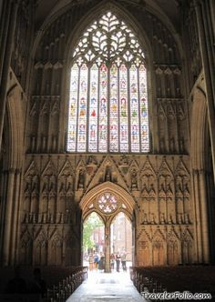 "Known as the ""Heart of Yorkshire"" window in the York Minster.  It's a mammoth window and from the 1300s!  Awesome"