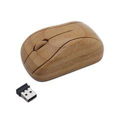 Wireless Maus aus Bambus - BambooTech - avocadostore