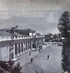 Железнодорожный вокзал был местом встречи для инвалидов войны в Шепетовке