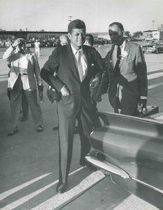 John F Kennedy's 1960 visit to Flint.