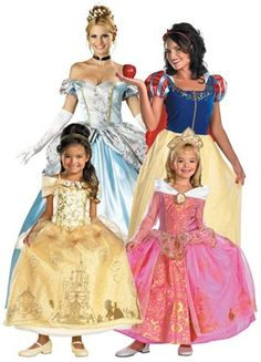 Official Princess Costumes