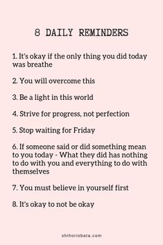 8 Daily Reminders - Read for 61 daily reminders for any day dailyreminders quotes selflove InspirationalQuotes 734016439252257280 Quotes Dream, Motivacional Quotes, Daily Motivational Quotes, Daily Quotes, Words Quotes, Life Quotes, Inspirational Quotes, Drake Quotes, Unique Quotes