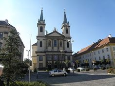 Szombathely Cathedral built in 1797 by Bishop Janos Szily Hungary, Places Ive Been, Westerns, Cathedral, To Go, Mansions, House Styles, City, Building