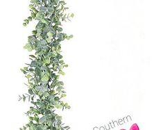Eucalyptus & Boxwood Garland Wedding Centerpiece Table Runner   Etsy Boxwood Garland, Greenery Garland, Wedding Table Centerpieces, Floral Centerpieces, Altar Decorations, Wedding Decorations, Wedding Ideas, Artificial Eucalyptus Garland, Garland Wedding