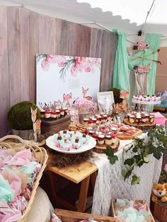 Sophie A's Baptism / Woodland - Photo Gallery at Catch My Party