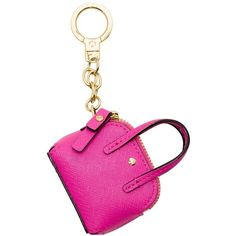 Kate Spade Maise Keychain ($46) ❤ liked on Polyvore featuring accessories, long key chains, fob key chain, kate spade key chain and kate spade
