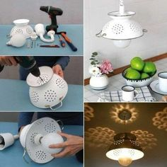 Diy Bath Mats, Diy Pendant Light, Pendant Lamp, Diys, Best Desk Lamp, Diy Light Fixtures, Diy Kitchen Island, Diy Bar, Light Project