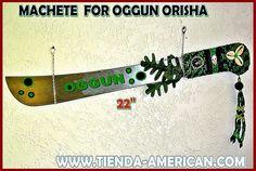 Santeria Yoruba SACRED  steel  Machete for  by tiendaAmerican, $39.99