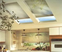 Skylight Shades, Silver Screen Shades and Window Coverings