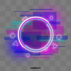 Blue purple faulty neon round border PNG and PSD Neon Background, Blur Photo Background, Banner Background Images, Background Images For Editing, Frame Border Design, Page Borders Design, Ios Wallpapers, Cute Wallpaper Backgrounds, Neon Design