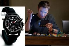 "The IWC Pilot's Watch Double Chronograph Edition TOP GUN seen in ""The ""Bourne Legacy"""